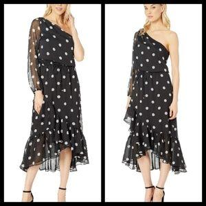 Ralph Lauren One-Shoulder Dress